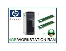 4GB (2x2GB) ECC Memory Ram Upgrade for the HP XW8200 Workstation Only