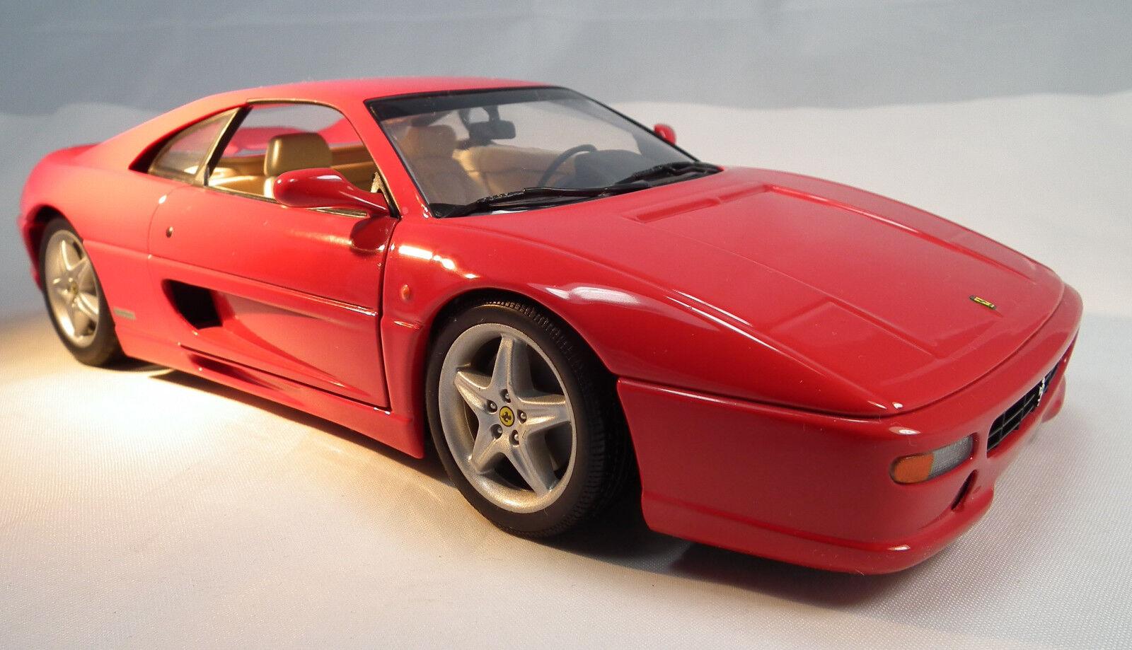 Ferrari F355 berlinetta von UT models im Maßstab 1 18  Modellauto