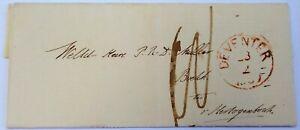 Deventer > 's-Hertogenbosch 23-2-1859 Kits van Heijningen > boekhandelaar Muller
