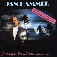 Jan Hammer - Escape From Television (uk Mid Price) [new Cd] on Sale