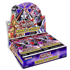 King's Court Booster Box 1st Edition Factory Sealed Yu-Gi-Oh! Presell