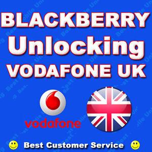 Details about BLACKBERRY 9720 9320 Z10 Unlock Code Unlocking Code -  Vodafone UK Network Only