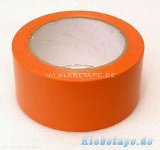 PVC Klebeband Schutzband 50mm x 33m Orange Abdeckband rückstandsfreies Abkleben