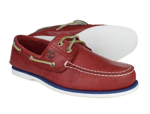 bateau homme Classic en pour cuir rouge Eye 2 6829b Timberland Chaussures zqEWBwd4z
