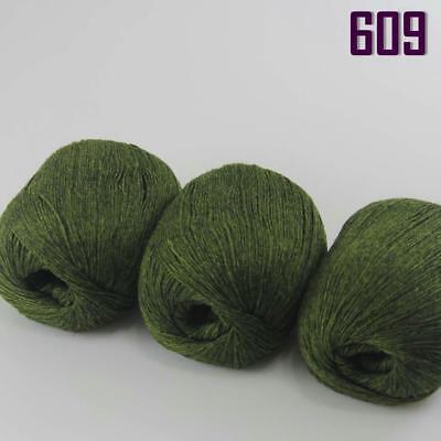 NEW Sale 1ball x50g Soft Baby Mongolian Pure Cashmere Hand Knitting Wool Yarn 19
