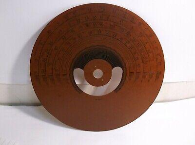 #27-5209   Authentic Vintage Replica Phenolic RADIO DIAL Philco 37-660