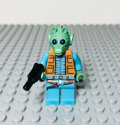 Lego Star Wars 4501 Greedo Minifigure Mos Eisley Cantina Minifig Genuine Lego