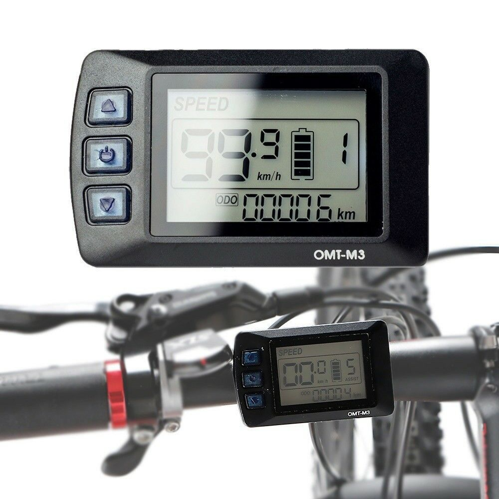 EBike LCD Display Panel for  500W 1000W 1500W Electric Ebike Bike Controller  cheap sale outlet online