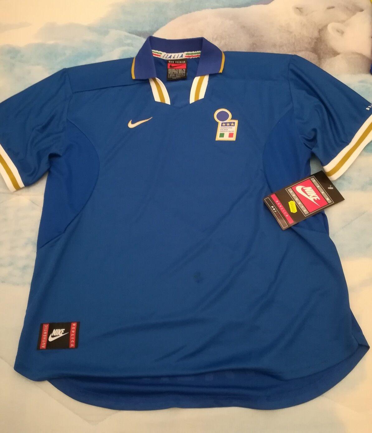 MAGLIA SHIR CAISETA VINTAGE OFFICIËLE ITALIË FOTOTAL Calcio nieuw NO Matchwear