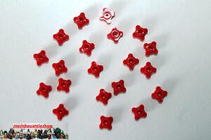 Lego-Friends-20X-Blumen-Bluete-Pflanze-Flower-1X1-Rot-Red-33291-28573