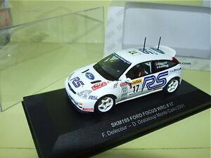 Ford Focus Monte Carlo 2001 Delecour Skid Skm195