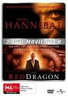Hannibal / Red Dragon DVD R4 & R2 Anthony Hopkins