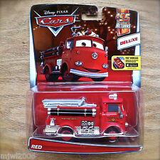 Disney PIXAR Cars RED the FIRE TRUCK diecast #95 RETURNS Theme 5/7 DELUXE ENGINE