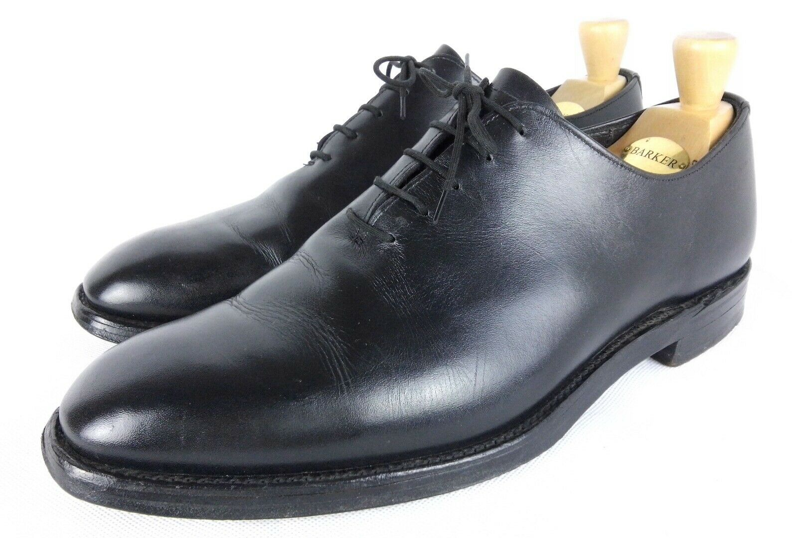 Tim little Grenson Black Wholecut Oxford shoes UK 9 F Made in England