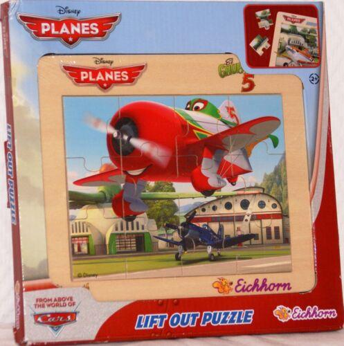 Eichhorn Disney Planes Bilder Lege Holz Puzzle 12 Teilig