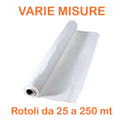 Telo TNT tessuto non tessuto 17gr//mq bianco polipropilene rotolo Varie larghezze