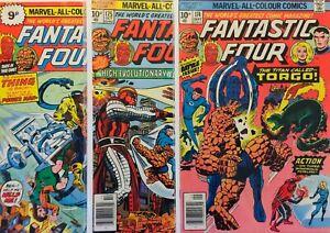 Lote-3-Comics-Fantastic-Four-de-Valor-Y-Interesantes-1961-1st-Series