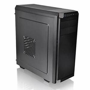 Thermaltake V100 ATX Mid-Tower PC Case, Black (Mpn: CA-1K7-00M1NN-
