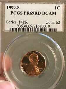 2001 S Lincoln Memorial Cent PCGS Graded PR69 RD DCAM     PCGS
