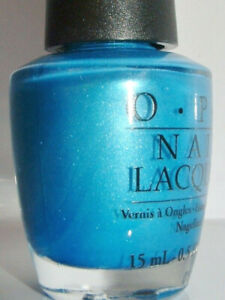 Details About Opi Teal The Cows Come Home Nl B54 Nail Polish Opi Brights Collection