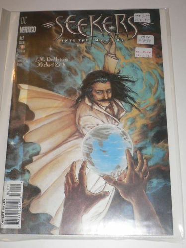 Seekers #9 Into The Mystery VF-NM DC Comics Oct 1996