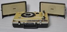 1960s Vintage National Portable Stereo Radiogram 3 Band Radio Phonograph SG-585