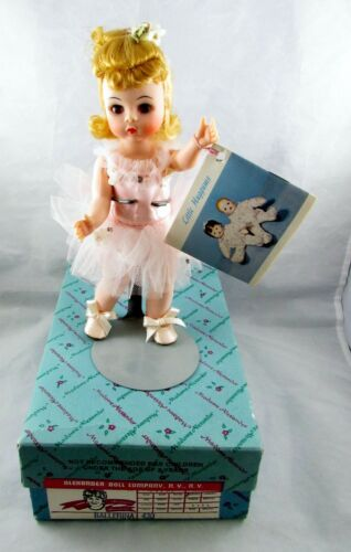 Madame Alexander Doll Company Ballerina Doll 430 With Box, Stand