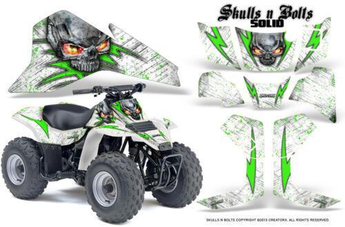 SUZUKI LT 80 LTZ80 ATV CREATORX GRAPHICS KIT DECALS SNBSDGW