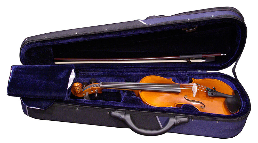 Quality 1 2 Violin Outfit Case Bow Rosin