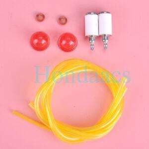 Fuel-Line-Filter-Primer-bulb-valve-for-ZAMA-530058709-Craftsman-Blower-Weedeater