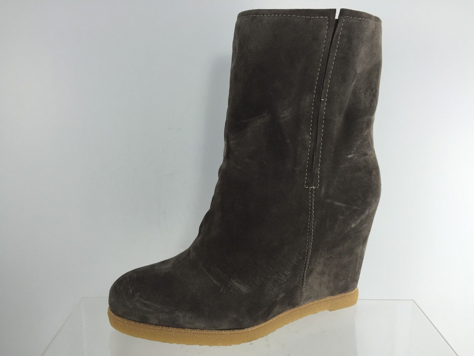 Stuart Weitzman Womens Brown Leather Boots 8.5 M