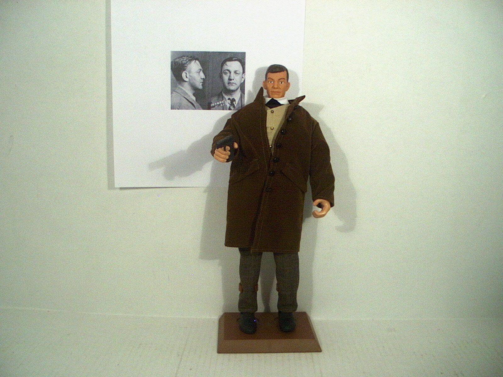 Arthur Flegenheimer Dutch Schultz gangster figure 12  1 6 Prohibition bootlegger