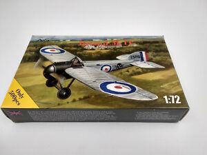 Maquette-a-monter-Avis-avion-Bristol-M-1C-serie-limite-500-pieces-echelle-1-72