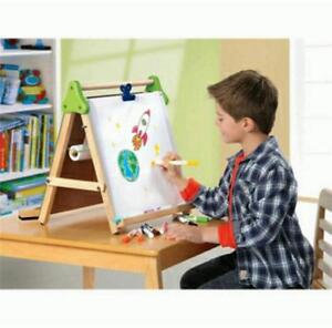 Image Is Loading Discovery Kids Wooden 3 In 1 Tabletop Easel