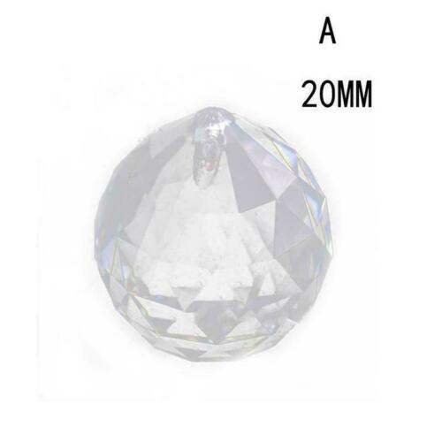 40mm klare Feng Shui hängende Kristallkugel Lampe Kugel Sun Ca Prisma Regen C1Y6