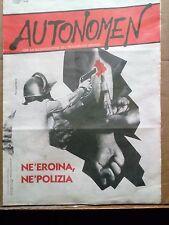 Autonomen per la ricomposizione del proletariato-Dissidenze-Autonomia operaia