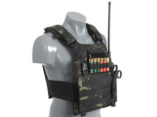 Klett Halterung mit 6 Schlaufen Tactical Jagd Schwarz