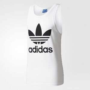 2cacf35d1a1e3c NEW MEN S ADIDAS ORIGINALS TREFOIL TANK TOP SHIRT ~SIZE 2XL  BK7098 ...