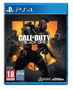 Call Of Duty Black Ops 4 PS4 Playstation 4 - Nuevo Precintado Pal Reino Unido
