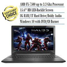 Lenovo Z50-75 Signature  15.6-Inch HD Laptop, AMD FX-7500 APU R7 8GB 1TB WIN 10