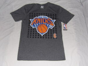 3f8426cf30fd NBA NY New York Knicks Kristaps Porzingis  6 Mens Small Jersey T ...