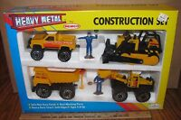 Remco Crawler Loader Truck Construction Toy Set Die Cast Metal 1990 & Sealed