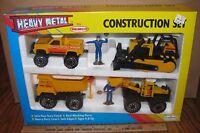 Remco Crawler Loader Truck Construction Toy Set Die Cast Metal 1990 & Sealed