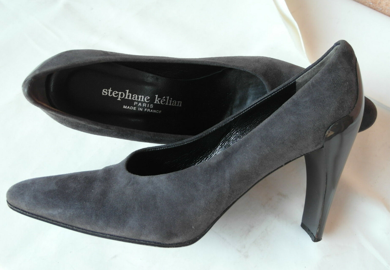 scarpe donna STEPHANE pelle, KÉLIAN 39 vera pelle, STEPHANE nuove 400 a7cfaf