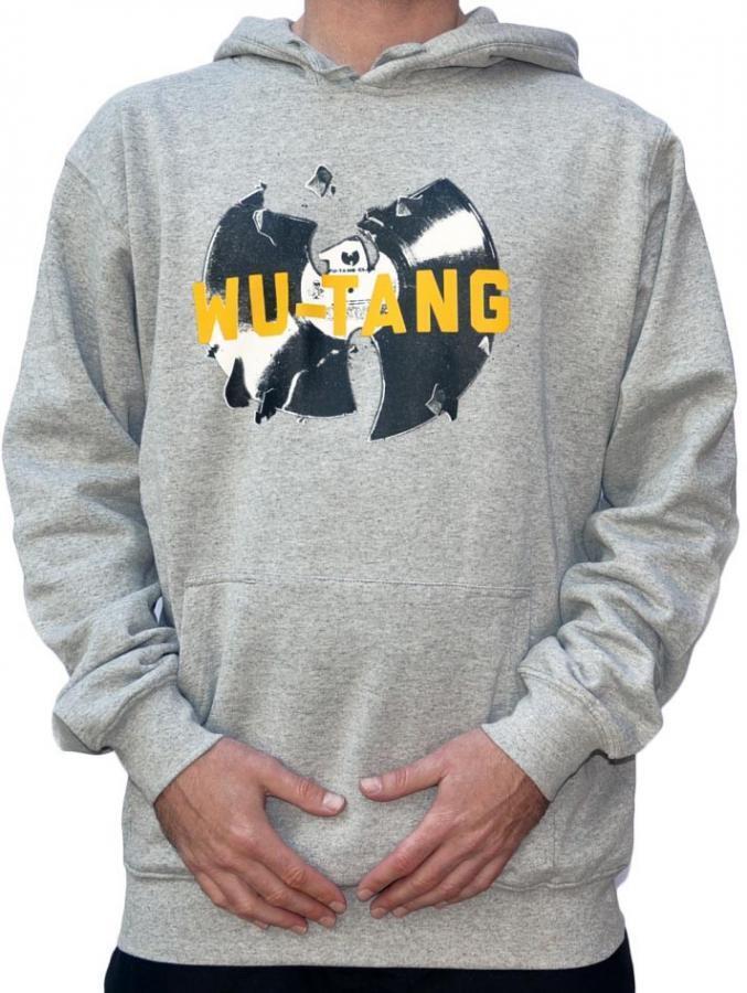 Wu-Wear Vinyl Heather Grau Wu-Tang Clan Wu Tang Hoody Hoodie Sweater ODB Herren