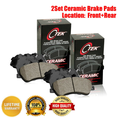 Centric Front /& Rear Ceramic Brake Pads 2SET For Cadillac Escalade ESV
