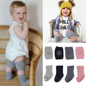 Safety Toddler Baby Non-Slip Elbow Crawling Walking Protector Knee Pads+Socks