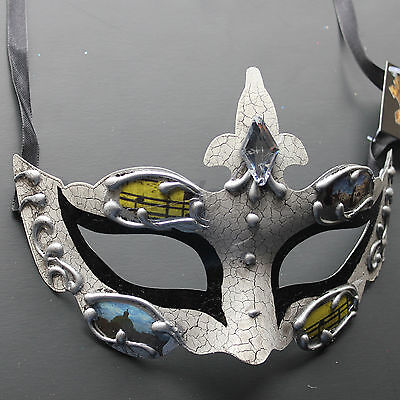 Purple Venetian Masquerade Mask Party Prom Wedding Halloween Costume Mardi Gras