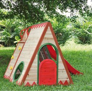 kinderspielhaus tini 22446 spielhaus holz fichte gartenhaus spielhaus kinder ebay. Black Bedroom Furniture Sets. Home Design Ideas