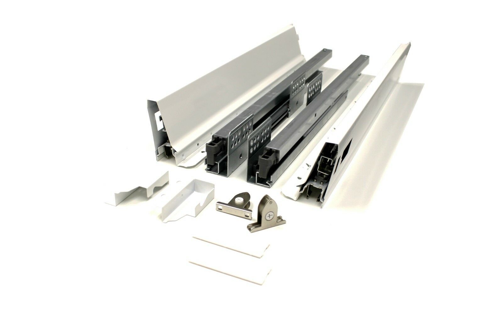 20 In. Drawer Set With Full Extension And Soft Self Close Features 110Lb 2 PAIR.